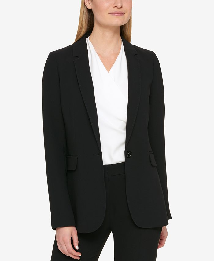 DKNY - One-Button Blazer