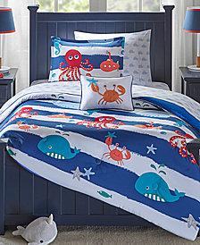 Mi Zone Kids Sealife 6-Pc. Reversible Twin Comforter Set