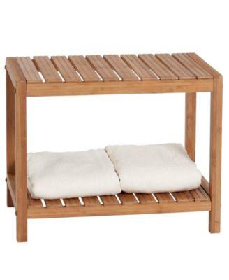 Creative Bath Organization, Eco Spa Bench