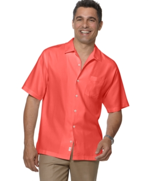 Tommy Bahama Shirt, Short Sleeved Bahama Cove