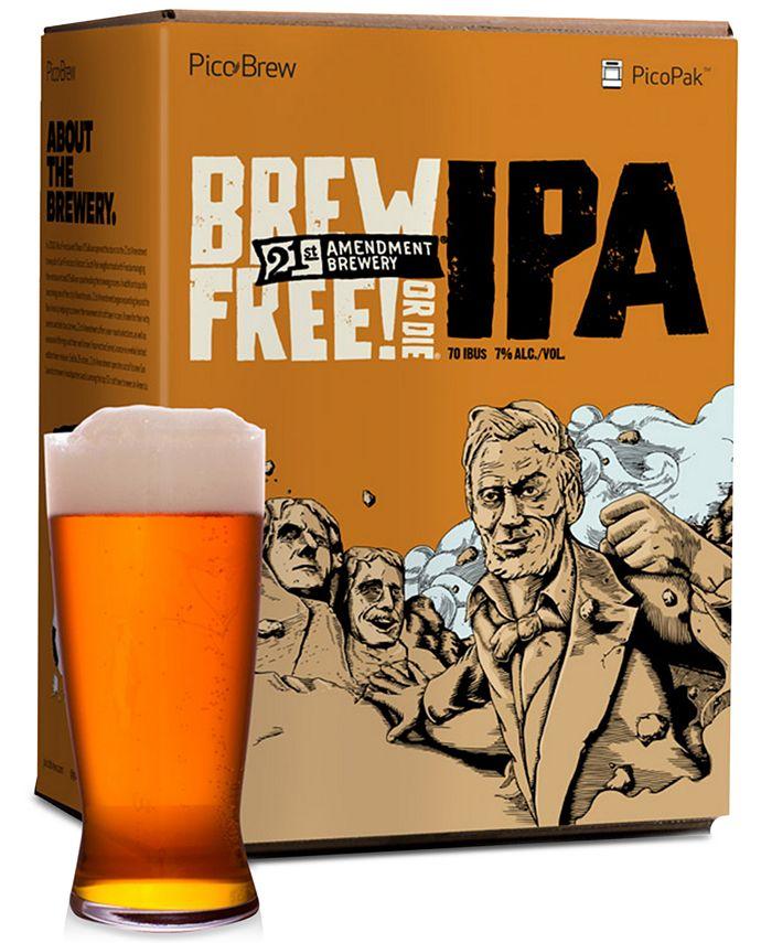 PicoBrew - 21st Amendment Brew Free or Die IPA PicoPak