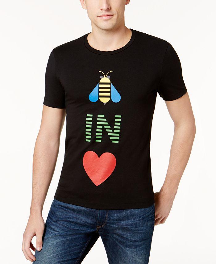 Love Moschino - Men's Graphic-Print T-Shirt