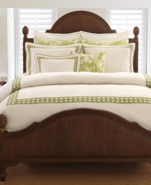 Tommy Bahama Home, Cane Embroidered Standard Sham Bedding