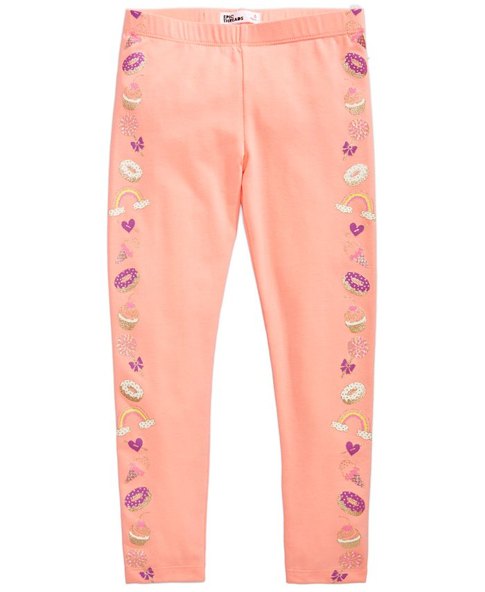 Epic Threads - Dessert Tuxedo Leggings, Toddler Girls (2T-5T)