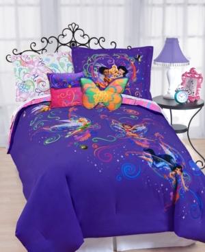 Disney Bedding, Surreal Garden Disney Tinkerbell Twin Comforter Set Bedding