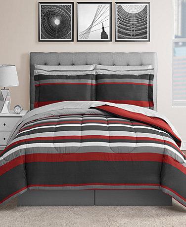 Fairfield Square Collection Austin 8-Pc. Reversible Bedding Sets