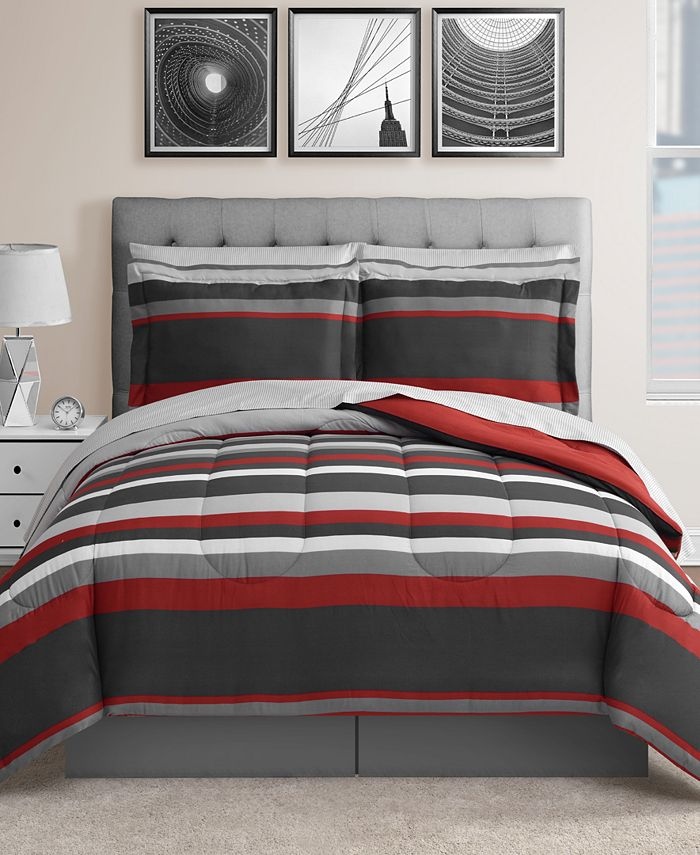 Fairfield Square Collection - Austin 8-Pc. Reversible Comforter Set