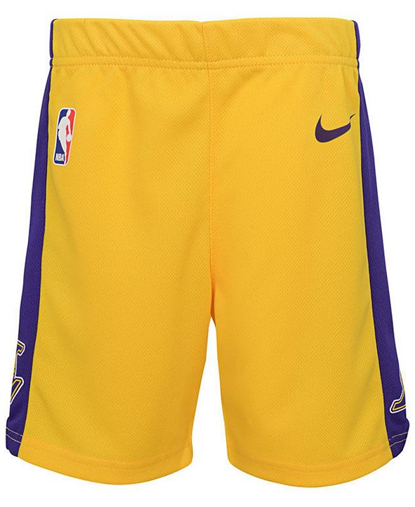Nike Los Angeles Lakers Icon Replica Shorts, Toddler Boys
