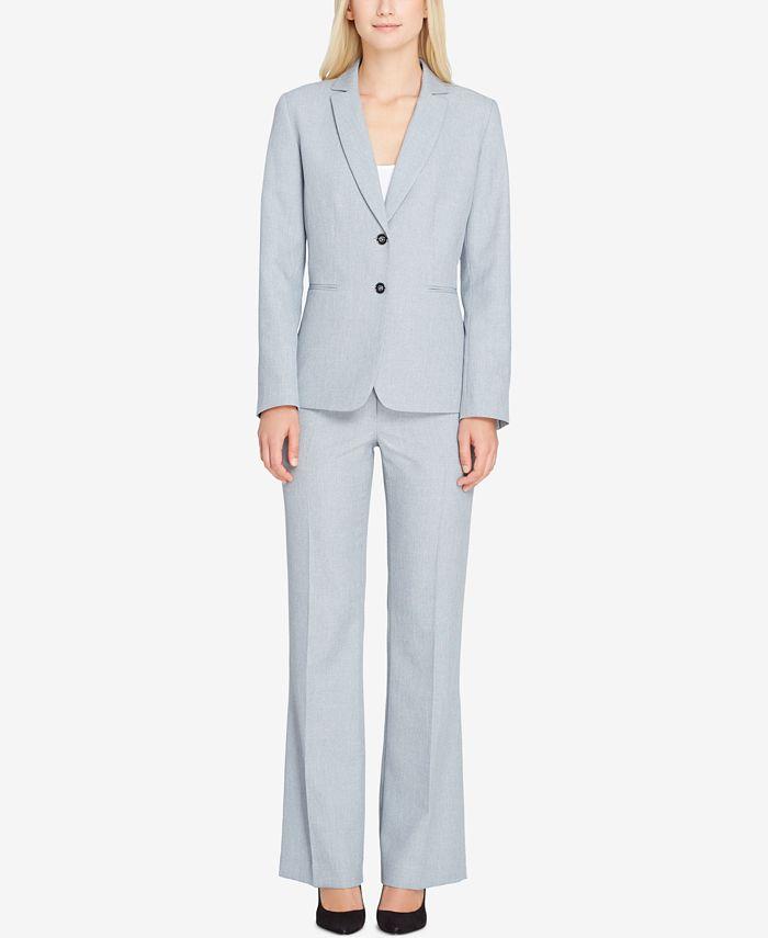 Tahari ASL - Two-Button Pantsuit