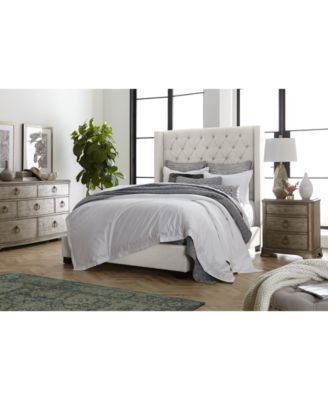 Monroe II Upholstered Queen Bed, Created for Macy's