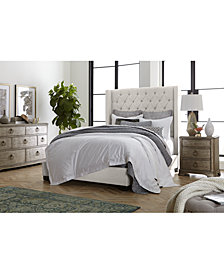 Monroe II Upholstered Bedroom Furniture Collection, Created for Macy's