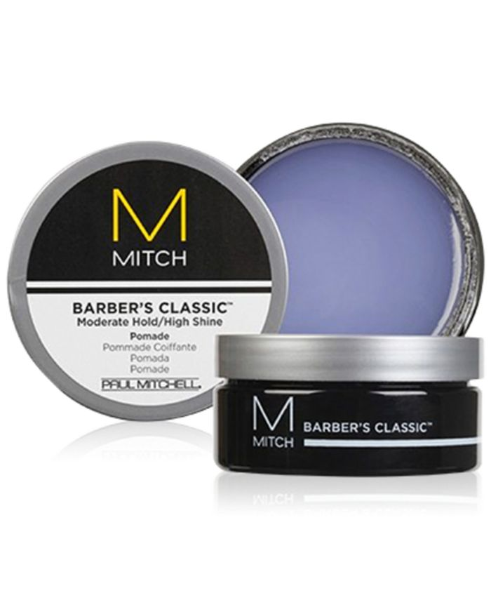 Paul Mitchell - Mitch Barber's Classic Moderate Hold/High Shine Pomade, 3-oz.