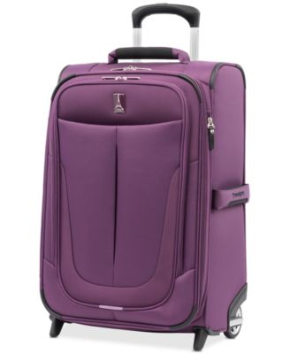 """CLOSEOUT! Walkabout 4 22"""" 2-Wheel Softside Carry-On, Created for Macy's"""