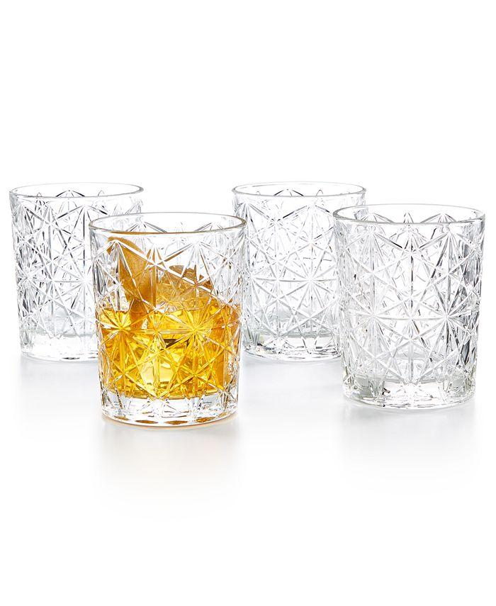 Bormioli Rocco - Lounge Double Old Fashioned Glasses, Set of 4