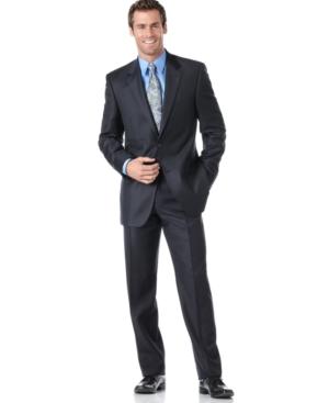 Alfani Suit, Luxury Navy Two Button