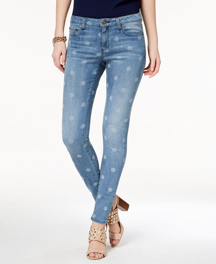 Michael Kors - Selma Dot-Print Jeans