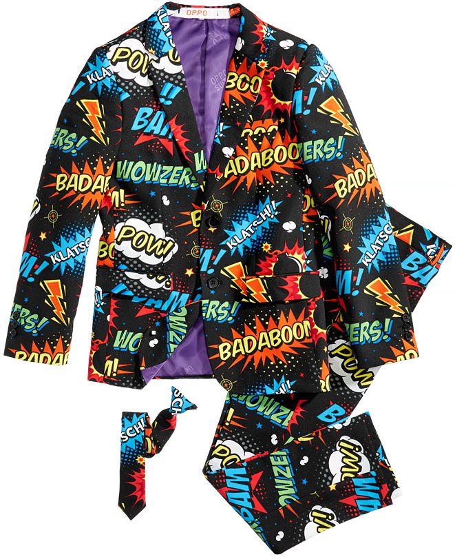 OppoSuits Teen Boys Badaboom Comics Suit
