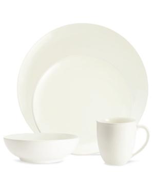 Noritake Dinnerware, Colorwave White Coupe 4-Piece Place Setting