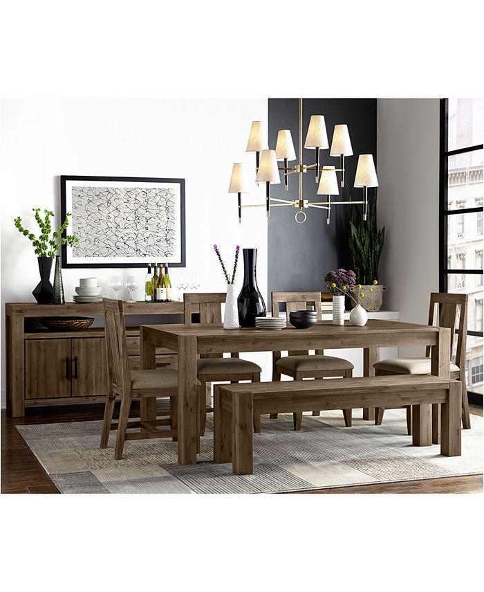Furniture Canyon Dining Furniture Collection Created For Macy S Reviews Furniture Macy S