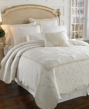 "Lenox Bedding, Opal Innocence 18"" Square Decorative Pillow Bedding"