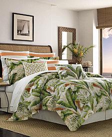 Tommy Bahama Palmiers 4-Pc. Queen Comforter Set
