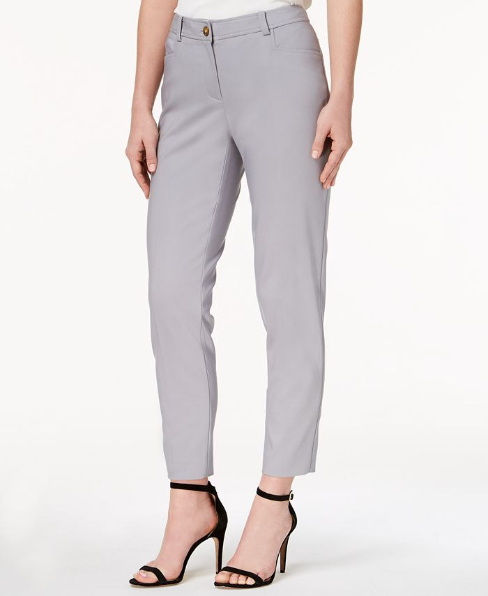 Anne Klein - Howard Hawk Straight-Leg Pants