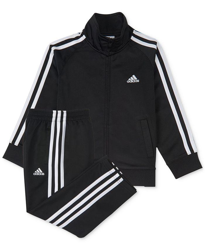 adidas - 2-Pc. Three-Stripe Track Suit, Baby Boys