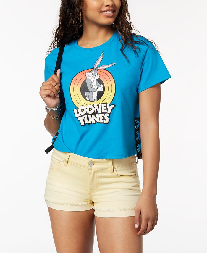 Love Tribe - Juniors' Looney Tunes Graphic-Print T-Shirt