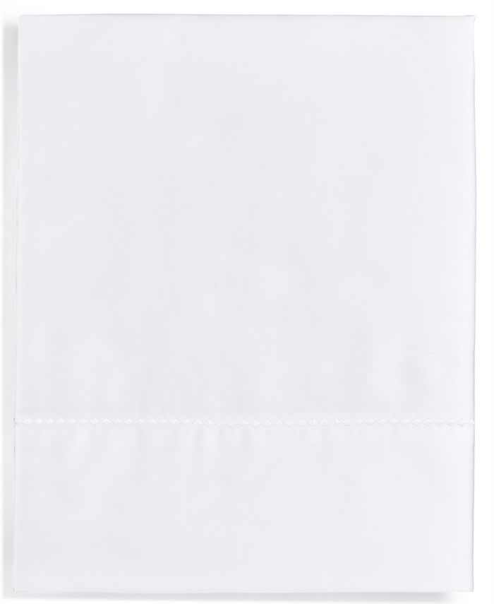 Martha Stewart Collection - Solid Open Stock 400-Thread Count Twin Fitted Sheet