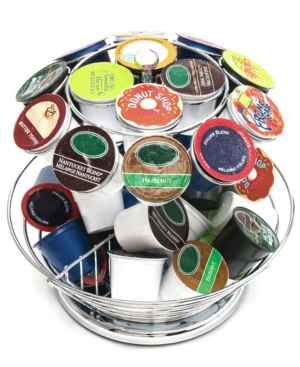 Lipper International Coffee Pod Carousel, 50 Pod Organize and Display
