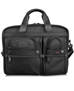 Tumi Laptop Brief, Alpha T-Pass Expandable