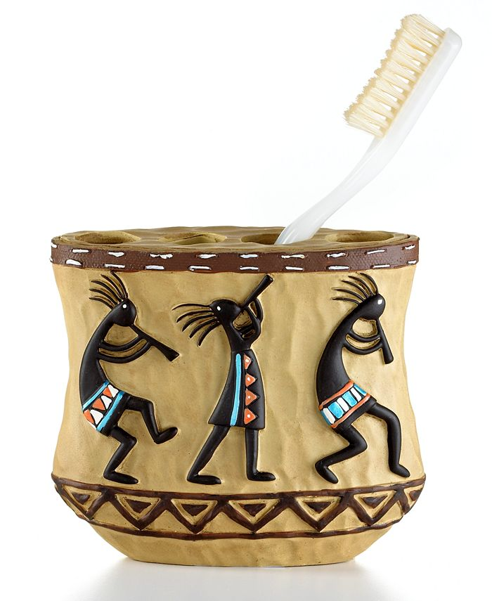 Avanti - Kokopelli Toothbrush Holder