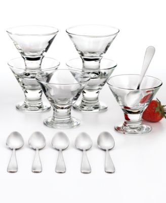 The Cellar Serveware, 12 Piece Mini Martini Dessert Set