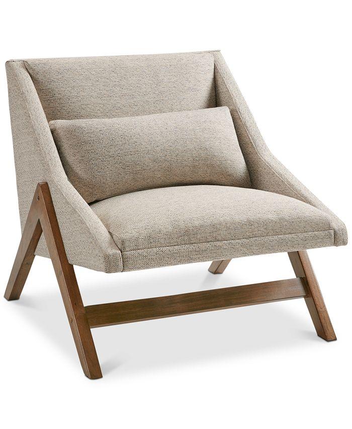 Furniture - Boomerang Lounge Chair, Quick Ship