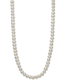 "Children's 14"" Cultured Freshwater Pearl (5mm) Collar Necklace"
