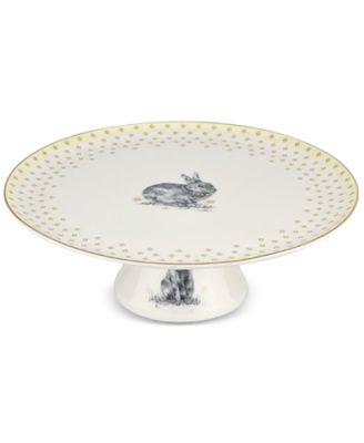 Meadow Lane Cake Plate