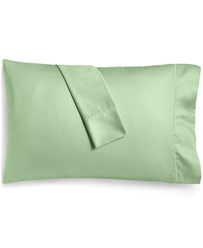 Martha Stewart Collection - Solid Open Stock 400-Thread Count King Pillowcase