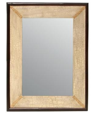Palecek Mirror, Crackle Stitch