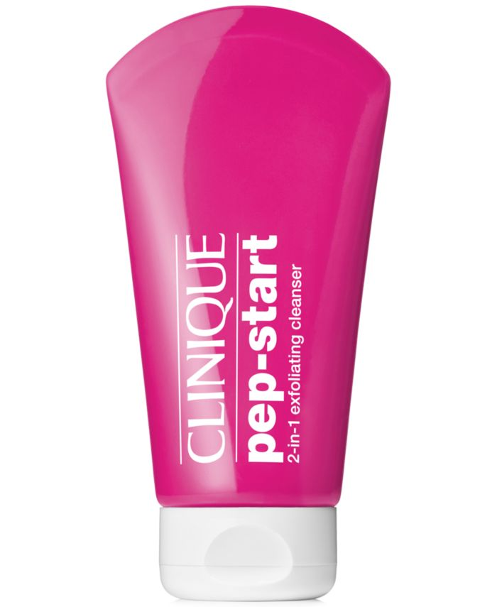 Clinique Pep-Start 2-In-1 Exfoliating Cleanser, 4.2-oz. & Reviews - Shop All Brands - Beauty - Macy's