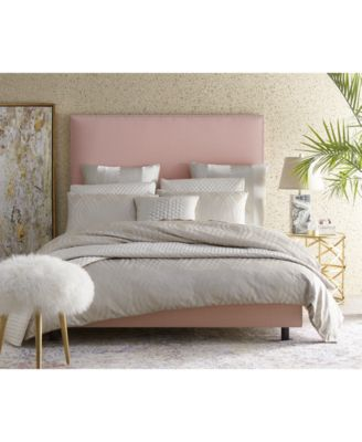 Paiton Queen Bed with Nailhead Trim