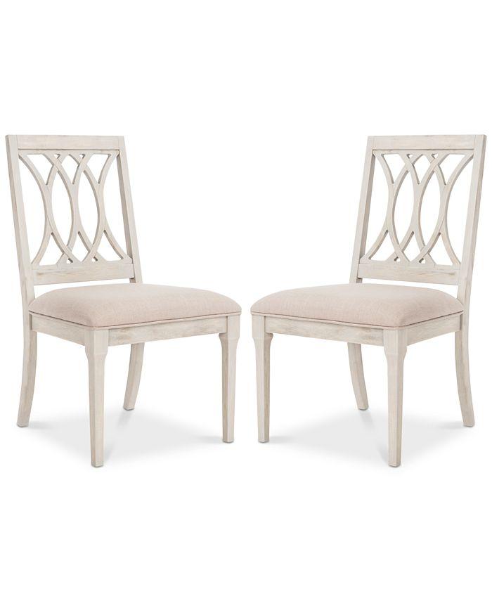 Safavieh - Gitanna Side Chair (Set Of 2), Quick Ship
