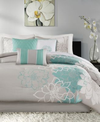 Lola Cotton 7-Pc. King Comforter Set