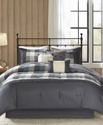 Ridge 7-Pc. King Comforter Set
