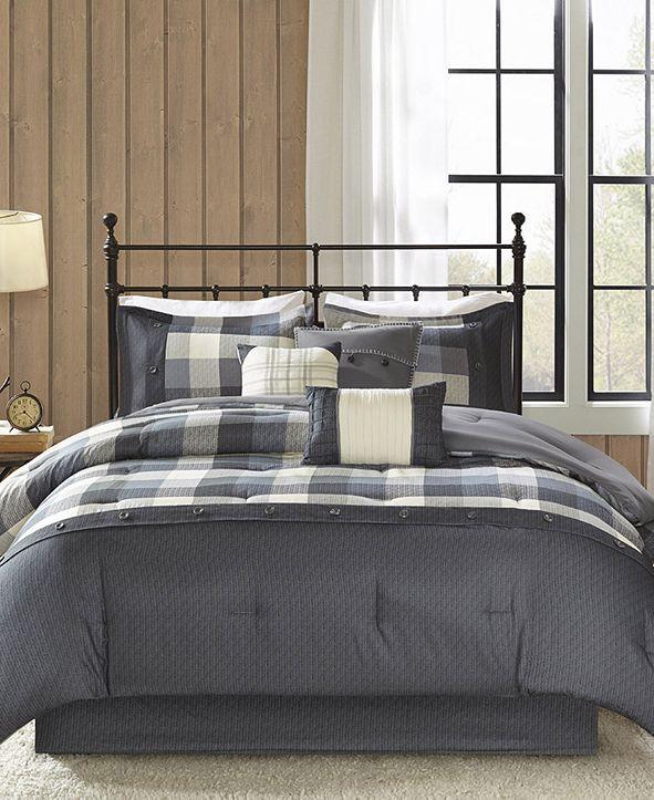 Madison Park Ridge 7-Pc. California King Comforter Set