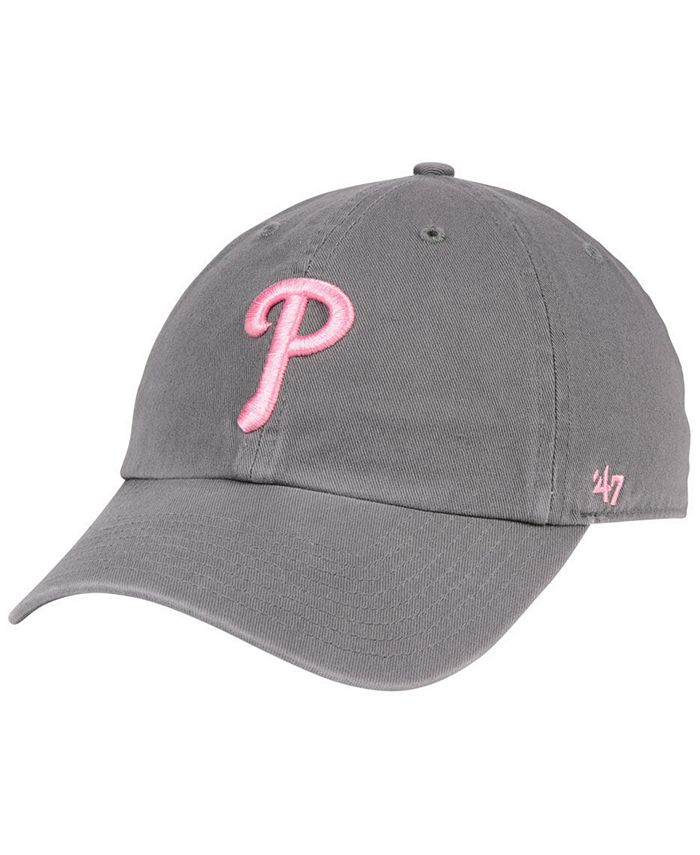 '47 Brand - Dark Gray Pink CLEAN UP Cap
