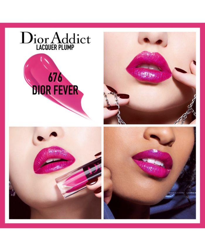 Dior Addict Lacquer Plump, 0.18 oz & Reviews - Makeup - Beauty - Macy's