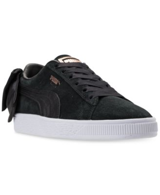 Puma Women's Suede Bow Casual Sneakers