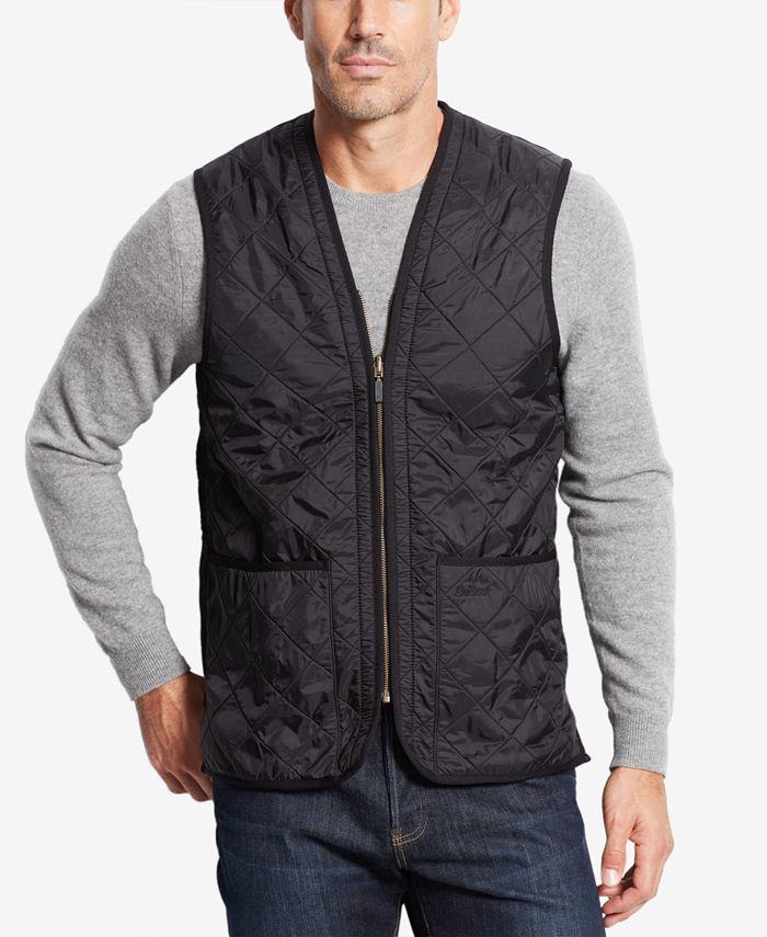 Barbour - Polarquilt Waistcoat/Zip-In Liner