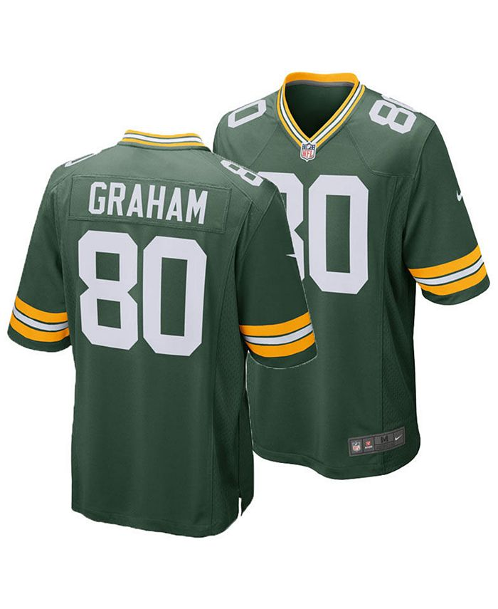 Nike Men's Jimmy Graham Green Bay Packers Game Jersey & Reviews ...
