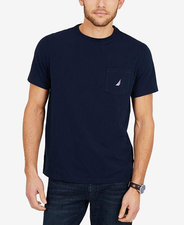 Nautica - T Shirt, Solid Anchor T Shirt